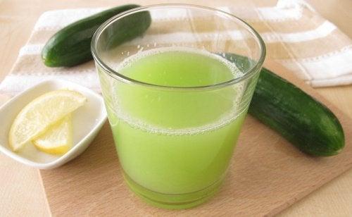 Depurare l'organismo con il cetriolo