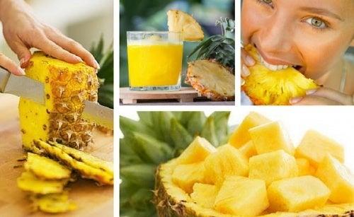 dieta con asparagi e ananas