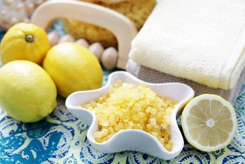 Esfoliante al limone