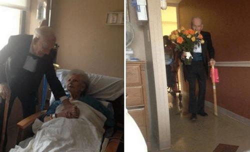 l'amore vero dura anche dopo 50 anni di matrimonio