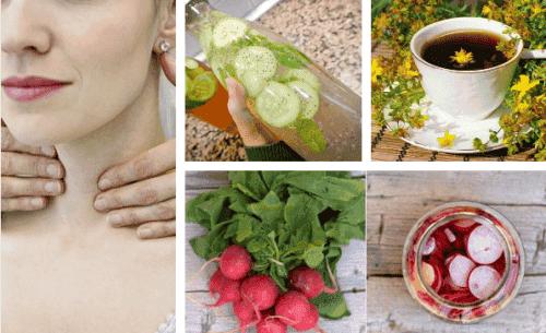 Prendersi cura della tiroide con le piante medicinali