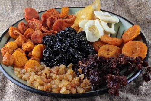 frutta disidratata per dimagrire