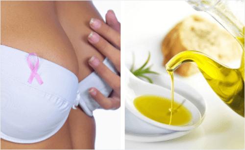 L'olio d'oliva può proteggerci dal cancro al seno