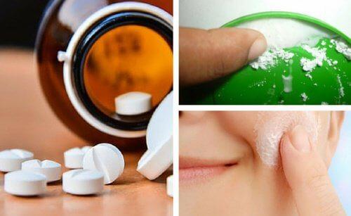 Gli usi dell'aspirina per abbellire la pelle del viso