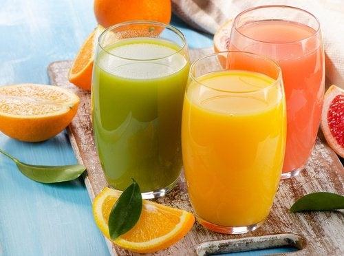 succhi verdi per disintossicare il fegato e perdere peso