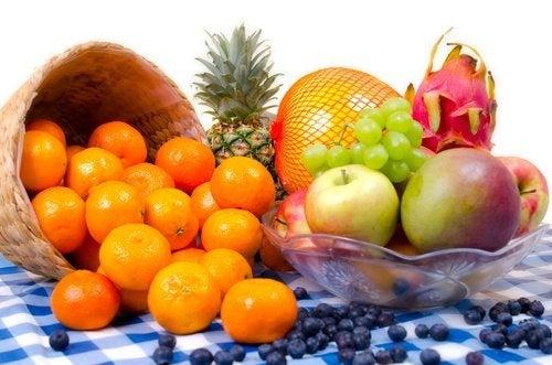 la frutta fresca attira le vibrazioni positive