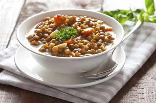 Le lenticchie: fonte di proteine e di antiossidanti