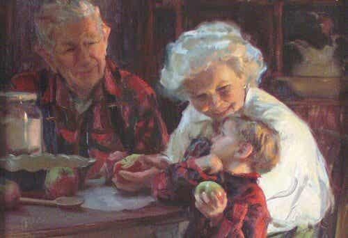 Prendersi cura dei nipoti aiuta a prevenire la demenza