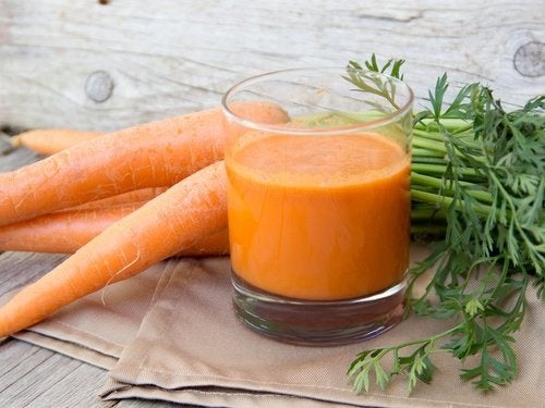 ricetta succo di carota per perdita di peso