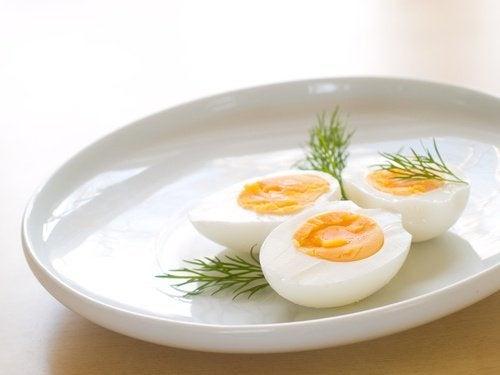 uova mai come alimenti riscaldati