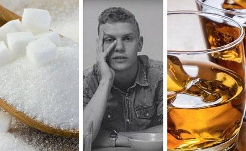 Non assumere alcol e zucchero per un mese