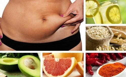 7 alimenti bruciagrassi da includere nella dieta