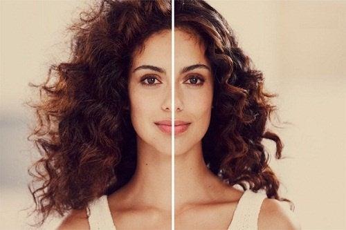 Domare i capelli crespi con trattamenti naturali