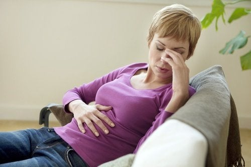 Donna con colite ulcerosa