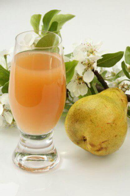 Succo di pera tra frullati anti stress