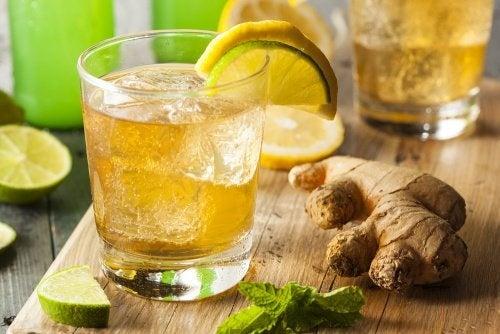 Birra allo zenzero per ridurre il dolore e le infiammazioni