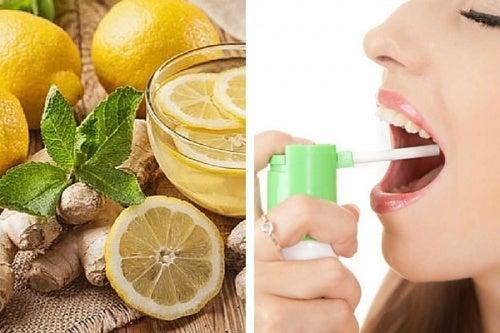 Prepariamo uno spray naturale contro il mal di gola