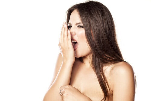 Alito cattivo tra disturbi del cavo orale