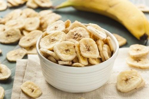 banane nella tazza