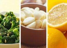 broccoli,aglio e limone