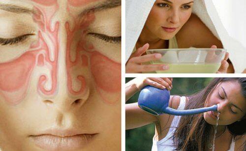 9 rimedi fatti in casa per alleviare la sinusite