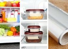 frigorifero ordinato-recipienti-alluminio