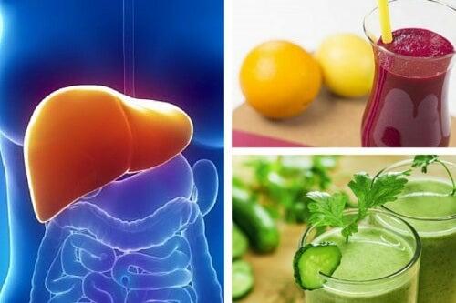 3 ricette di frullati detox per il fegato