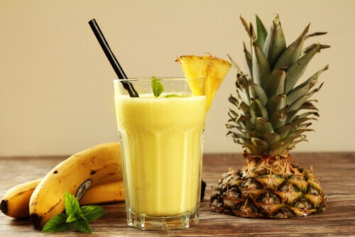 frullato all'ananas