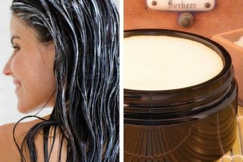 Crema rivitalizzante per capelli