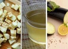 Acqua alla melanzana e limone per ridurre il colesterolo
