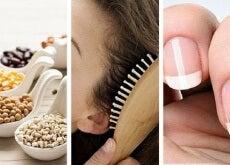 Alimenti, capelli, unghie