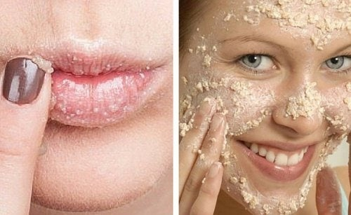 Esfoliante naturale per il viso e le labbra