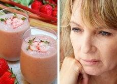 Frullato per combattere gli effetti della menopausa