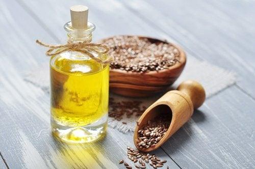 La sindrome dell'occhio secco e l'olio di semi di lino