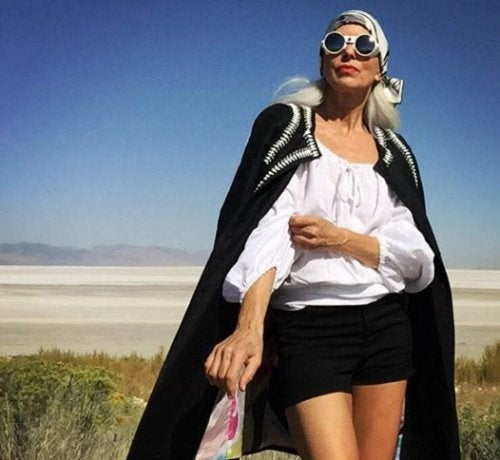 Yasmina Rossi a 60 anni