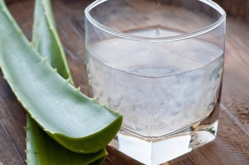 Aloe vera in gel