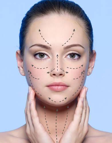 applicazione crema viso