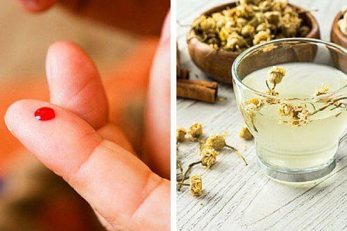 Bevanda alla camomilla e cannella per regolare gli zuccheri nel sangue