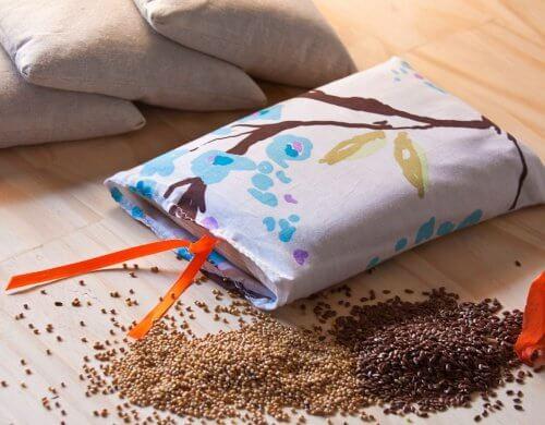 Sacchetti di semi per calmare il dolore