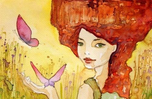 donna-con-farfalle-500x327