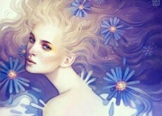 donna-con-margherite-blu-500x386