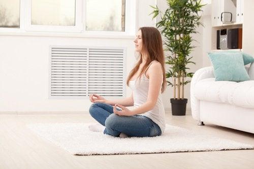 Praticare la meditazione antistress a casa