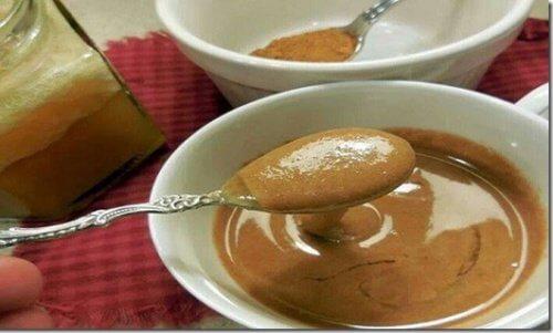 Un cucchiaio di cannella e miele per la salute