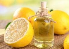 olio di cocco e limone