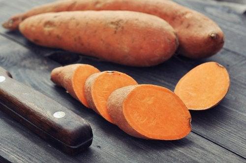 patate dolci contro i calcoli renali