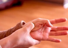 punti di pressione nella mano