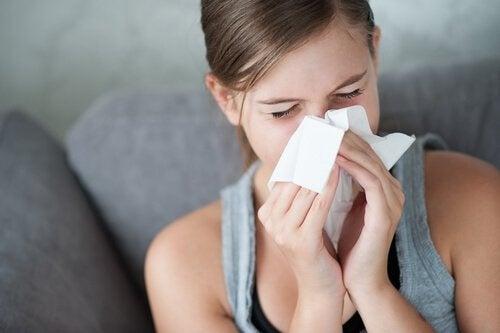 l'aglio consente di evitare facilmente raffreddore e mal di gola