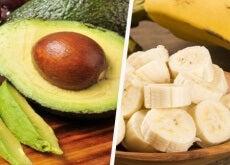 prima dell'allenamento avocado e banana