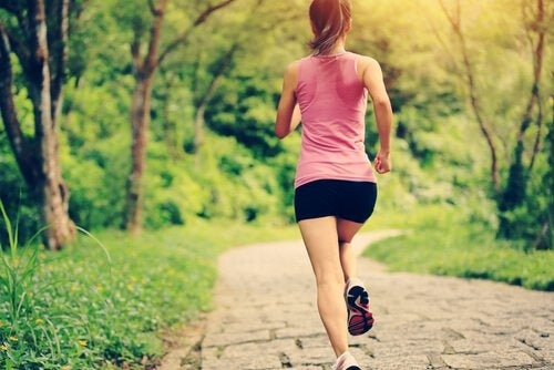 Correre per attenuare le smagliature