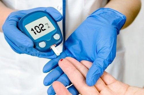 l'acqua di zenzero previene il diabete
